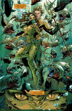 aquaman - with wonder woman`s friend cheetah - for some reason Batman, Superman, Character Drawing, Comic Character, Comic Books Art, Comic Art, Cheetah Dc Comics, Arte Dc Comics, Aquaman Dc Comics