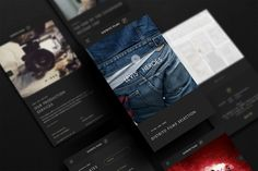 Distrito Films Website on Behance