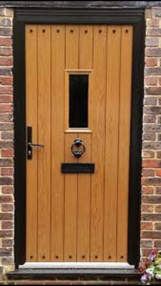 16 best front door images oak front door exterior doors entrance rh pinterest com