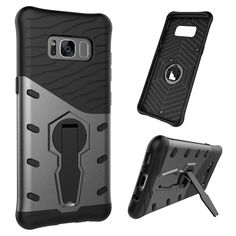 For Samsung Galaxy S8 S8 Plus case Hybrid Kickstand ShockProof cover shell for Samsung S 8 Plus cover rotating stand holder case