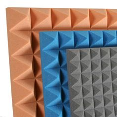 soundproof acoustic studio foam wall tiles gray egg crate on ebay