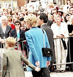 Prince Harry and his mum Princess Diana