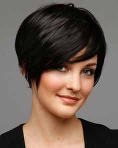 cool Short Hairstyles for Thick Hair and Oval Face - Hairstyles, Easy Hairstyles For Girls Short Hairstyles For Thick Hair, Hairstyles For Round Faces, Short Haircuts, Popular Haircuts, 2014 Hairstyles, Hairstyles Pictures, Female Hairstyles, Pretty Hairstyles, Pinterest Hairstyles