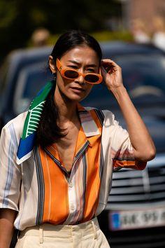 The Best Street Style From Copenhagen Fashion Week 2019 | teenvogue Cool Street Fashion, Look Fashion, Womens Fashion, Fashion Trends, Fashion Styles, Fashion Outfits, Teen Vogue Fashion, Fashion Tips, Copenhagen Street Style
