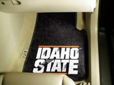 NCAA - Car Mats 2 Piece Front - Idaho State University.  Buy it @ ReadyGolf.com