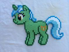 Lyra Heartstrings - My Little Pony Friendship is Magic perler beads by PrettyPixelations: