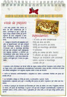 Aprenda a fazer a Torta Gelada de Banana no Bloquinho do Anonymus