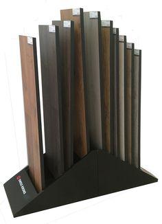 WD719  Hardwood Flooring MDF display Bin | Flooring display stand,carpet display,Sample book