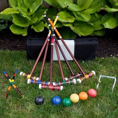 Oh yeah Croquet party time