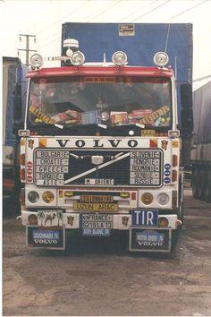 Scomo + Eskside Transport Ltd Volvo V8, Volvo Trucks, Mack Trucks, Semi Trucks, Trucks Only, Cool Trucks, Big Trucks, Old Lorries, Old Wagons