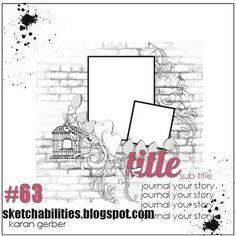 MSC November sketch 1 - Scrapbook.com