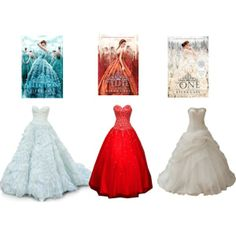 """The selection trilogy!"" by joselleesib on Polyvore"