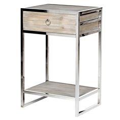 Anfir Bedside Table – Shropshire Design