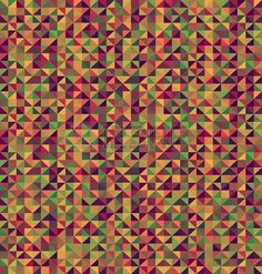 Seamless background texture illustration - triangle shape. Repeating diamonds geometric shapes pattern. Stock Photo - 18930652