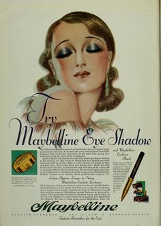 1920s Maybelline Eye Shadow