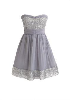 dELiAs Sequin Trim Dress