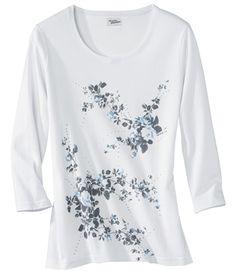 "T-Shirt ""Floral"" #atlasformen #atlasformende #atlasformendeutschland #meinung #winter #atlasforwomen"