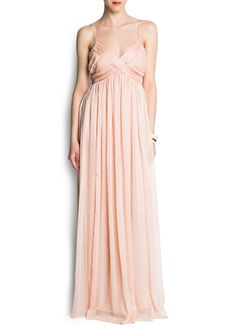 Creme white soft pink dress by Mango. Saw it today and fell in love! $80
