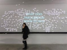 TATE modern participation tool