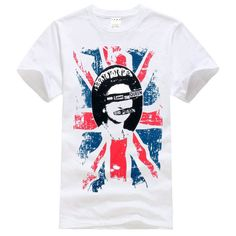Sex Pistols Rotten save the queen white T-Shirt Size S-XXXL #Handmade #BasicTee