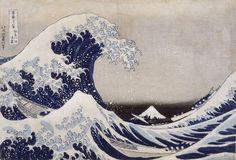 """""""La Grande Vague de Kanagawa"""" © Hokusai"""