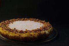 Cheesecake de Alperce e Praliné de Amêndoa || Apricot Cheesecake with Almond Praline