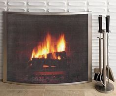 Gorgeous fireplace surround.  Would love to do something similar to replace our hideous faux stone painted surround.