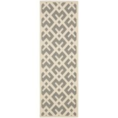 @Overstock.com - Safavieh Indoor/ Outdoor Courtyard Grey/ Bone Rug (2'3 x 8') - Safavieh's Courtyard collection is inspired by timeless designs crafted with the softest polyproplene available.  http://www.overstock.com/Home-Garden/Safavieh-Indoor-Outdoor-Courtyard-Grey-Bone-Rug-23-x-8/8059527/product.html?CID=214117 CAD              58.45