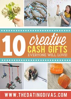 I love gifting money and these are amazing ideas! www.TheDatingDivas.com