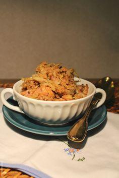 Hoje para jantar ...: Migas de couve, alheira e feijão frade