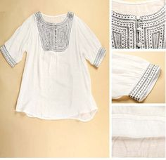 Womens Maternity Blouse. Stylish Top for mom.
