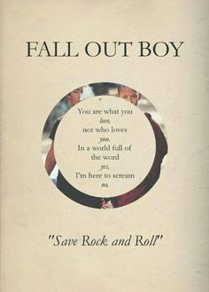 <3 ~Fall out boy