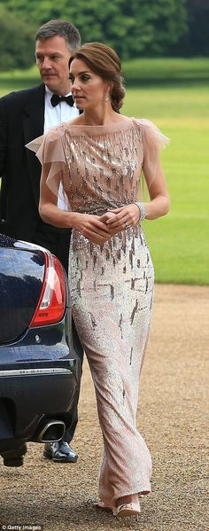 Catherine, Duchess of Cambridge attends the gala was held in order to raise money for East Anglia's Children's Hospices (EACH), of which she is patron on June 22, 2016