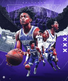 Artwork for De'Aaron Fox of Sacramento Kings Mvp Basketball, Basketball Posters, Basketball Workouts, Basketball Design, Football Design, Sports Posters, Basketball Leagues, Cristiano Ronaldo, Nba Background