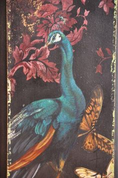 wonderful peacock wall hanging from tracy porter