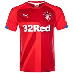 cfc8f1e8e0f Glasgow Rangers 2014 2015 Third Shirt (Red). Available from Kitbag.com