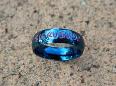 Name Ring Personalized Ring Hand Stamped by SnowMountainDesigns, $25.00