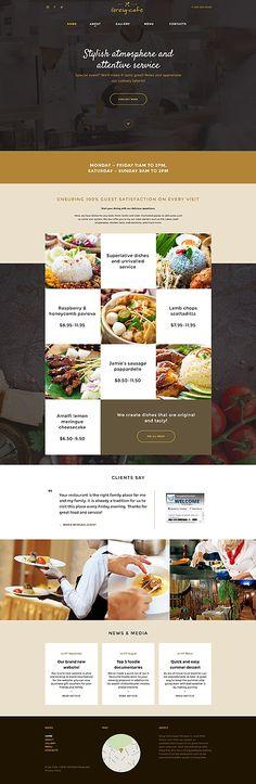 75 best Cafe Website images on Pinterest   Design websites, Charts ...