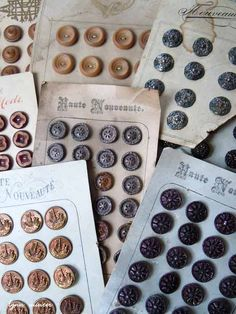 Cottage and Creek: A Cottage Style Blog, antique french buttons ...