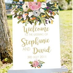 Introducing The Moody Blooms Collection! A collection of printable wedding, bridal and baby shower welcome and table signs. Prices for the large signs starting at $7.50 USD due to the AUD being weak, so take advantage of our poor exchange rate