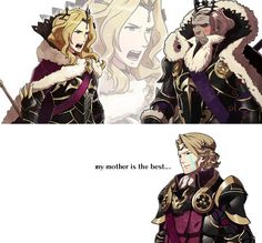 Xander's mother is the best <-- wait is that actually her? Must be a dlc, if so which one!?