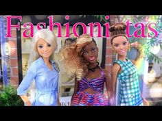 Unbox Daily: Barbie Fashionistas Double Denim, Zig & Zag, Emerald Check - Doll Review - 4K - YouTube