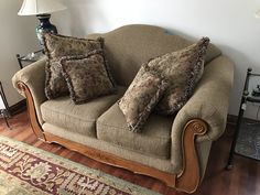 Dining room love seat sofa $Bakers rack $65  ESTATE SALE SATURDAY, March 18 Hours: 10am to 4pm MENOMONEE FALLS:   W163 N5329 Waldens Pass, Menomonee Falls  Everything must go ~ and the list is long ~ Furniture, Glassware, Pottery, Tools, Art Work, Jewelry, Kitchen Gadgets, Dining Room Set with Chairs, Hutch, Christmas items, crystal, bedroom furniture sets, and just too much to list!!  Pictured only a FEW of the furniture pieces ...... and so many smalls ~~ all not pictured!