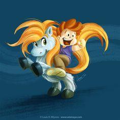 MY COOL LITTLE SHETLAND PONY #kidlit #kidlitart #cartoon #illustration #pony