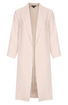 See what I'm loving on Topshop for iOS 6th Form Outfits, Satin Coat, Types Of Coats, Satin Hands, School Wear, Cute Coats, Dress Trousers, Cool Style, My Style