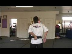 Martial Art Bo Staff Techniques : Behind the Back Bo Staff Techniques
