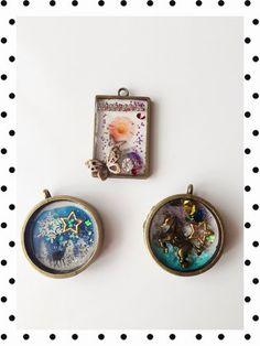 ハンドメイド:レジン Ice Resin, Plastic Resin, Shrink Plastic, Resin Jewelry, Jewelry Crafts, Jewellery, Diy Resin Crafts, Resin Casting, Handcrafted Jewelry