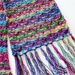 free crochet pattern for dragonfly bandana cowl scarf wrap on pattern-paradise.com #crochet #patternparadisecrochet #cowl #freepattern