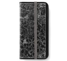 "CLICK to see ""Black Flox Graphic©""  iPhone Wallet by Nadia Bonello - Trū Images."