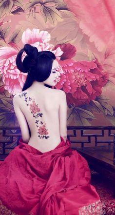 Japanese Art, Japanese Beauty, Asian Beauty, Afrique Art, Geisha Art, Japon Illustration, Samurai Art, Beautiful Asian Women, Chinese Art
